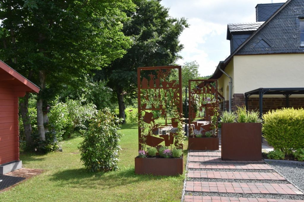 Liebevoller Garten